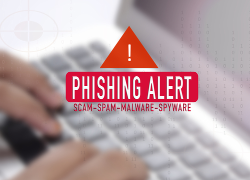 PHISHING Alert concept. Blurred background and lens flare added.-img-blog