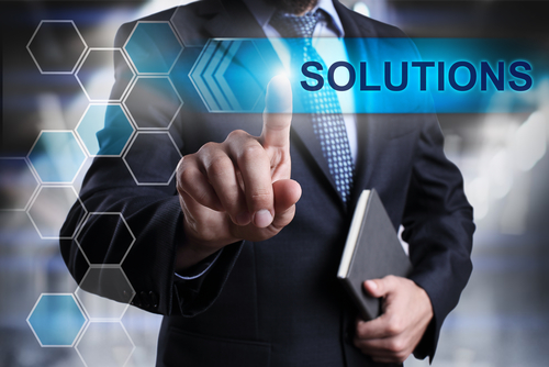 solutions businessman
