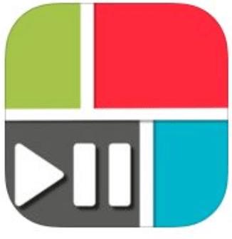 PicPlayPost app logo design